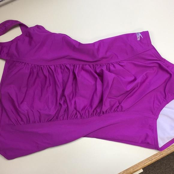 Speedo Other - Womens' Speedo One piece swimsuit w built in Bra